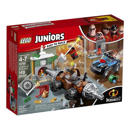 LEGO 10760 RAPINA IN BANCA DEL MINATORE JUNIORS