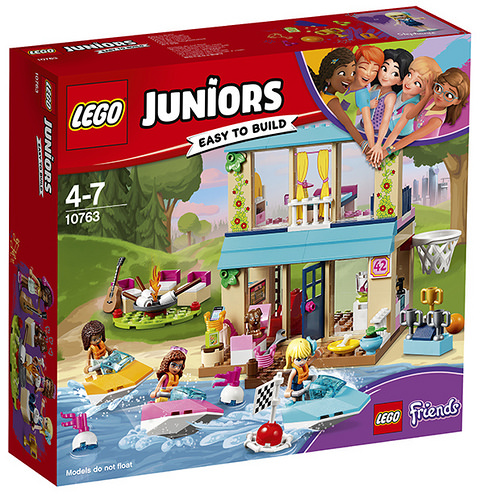 LEGO 10763 LA CASA SUL LAGO DI STEPHANIE JUNIORS