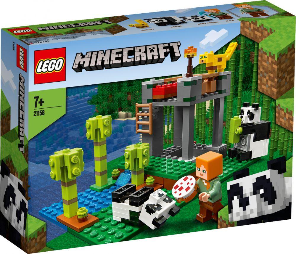 LEGO 21158 L'ALLEVAMENTO DI PANDA MINECRAFT