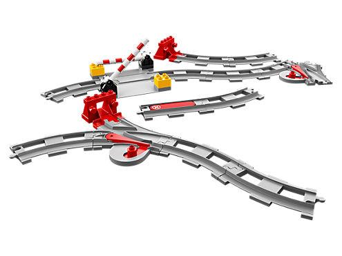 LEGO 10882 BINARI FERROVIARI DUPLO