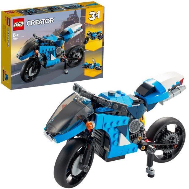 LEGO 31114 SUEPRBIKE CREATOR