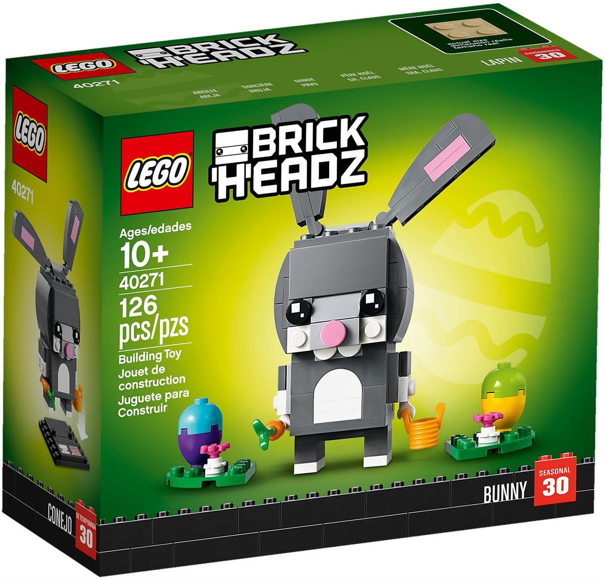 LEGO 40271 CONIGLIETTO DI PASQUA BRICK HEADZ