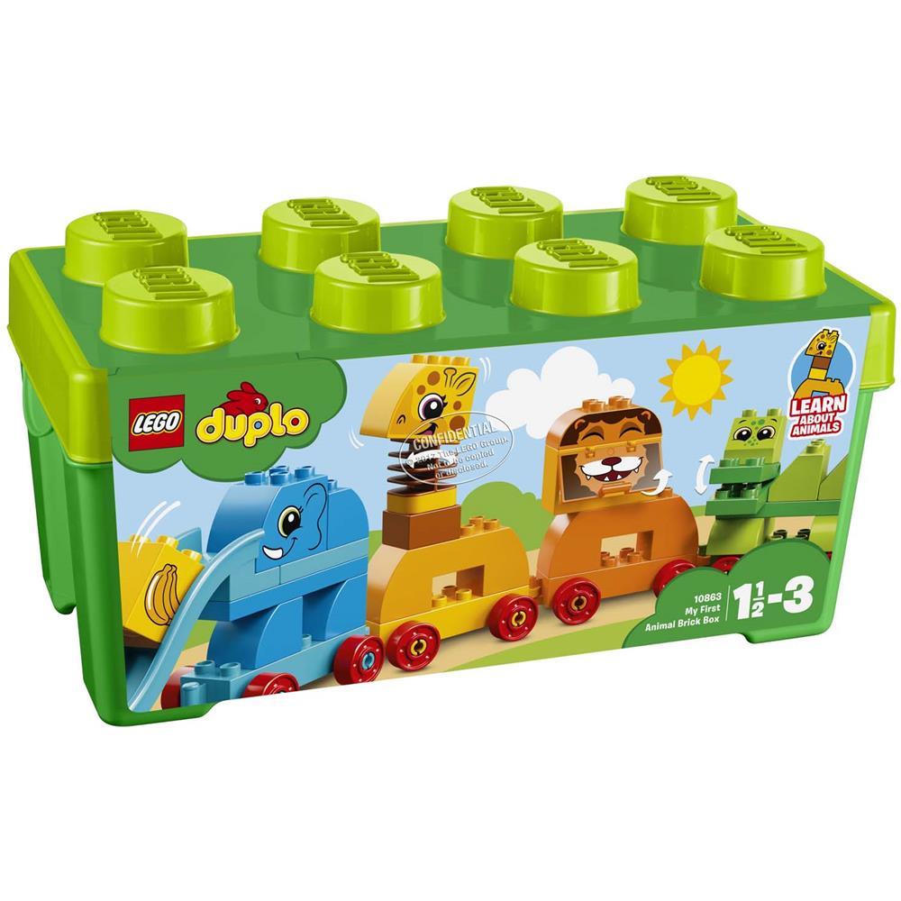 LEGO 10863 IL TRENO DEGLI ANIMALI DUPLO