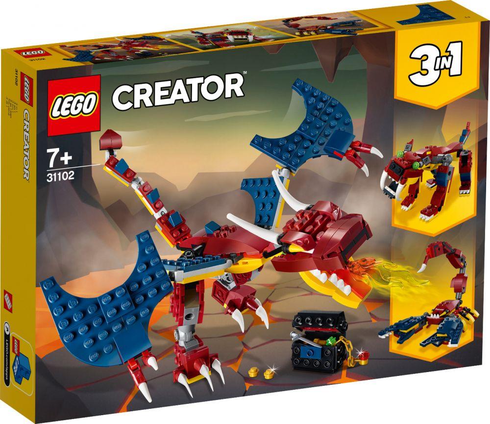 LEGO 31102 DRAGO DEL FUOCO CREATOR