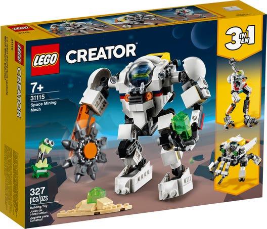 LEGO 31115 MECH PER ESTRAZIONI SPAZIALI CREATOR