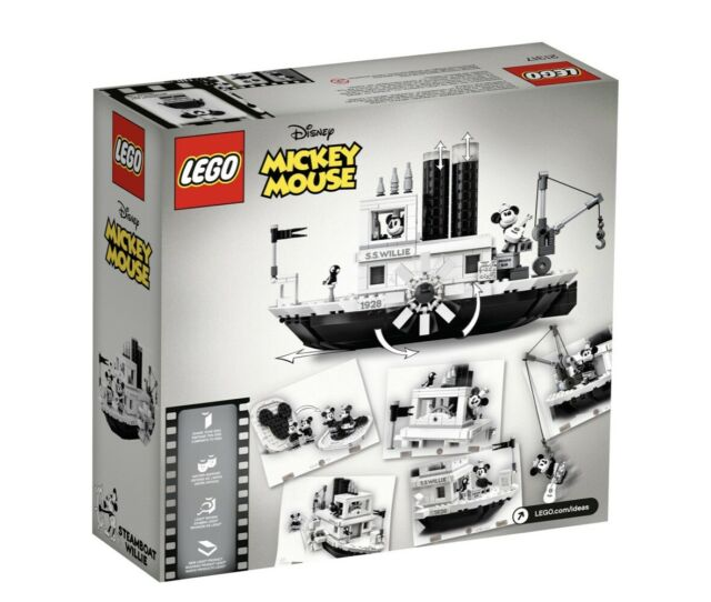 LEGO 21317 STEAMBOAT WILLIE IDEAS