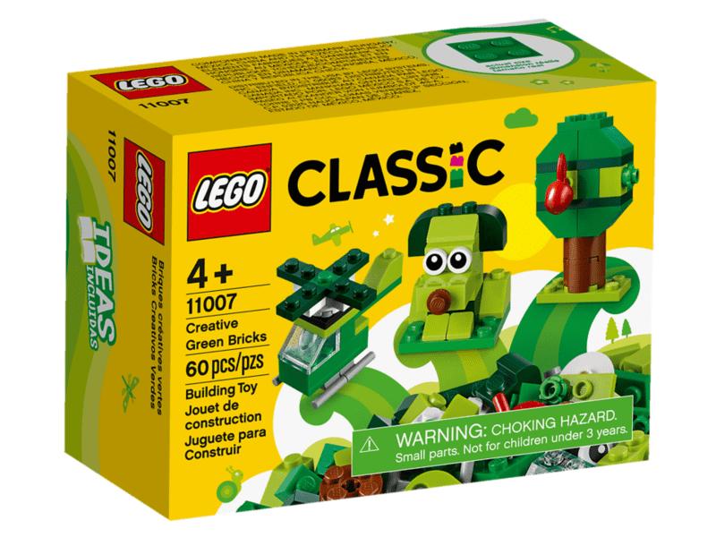 LEGO 11007 MATTONCINI CREATIVI VERDI CLASSIC