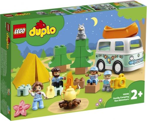 LEGO 10946 AVVENTURA IN FAMIGLIA SUL CAMPER VAN DUPLO