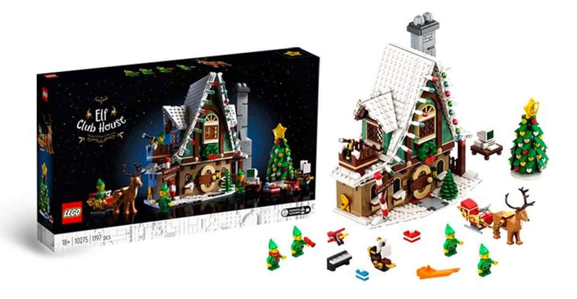 LEGO 10275 LA CASA DEGLI ELFI CREATOR