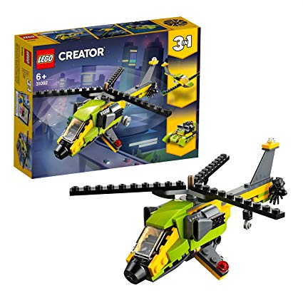 LEGO 31092 AVVENTURA IN ELICOTTERO CREATOR