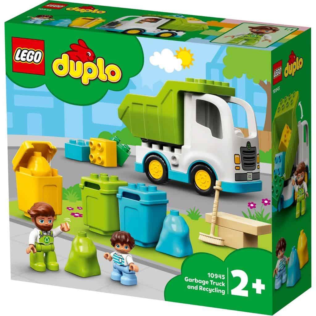 LEGO 10945 CAMION DELLA SPAZZATURA E RICICLAGGIO DUPLO