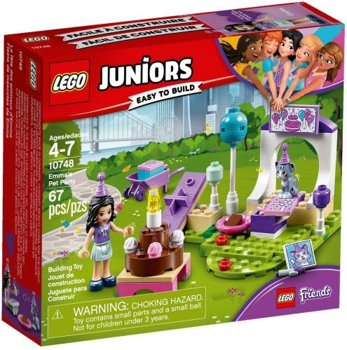 LEGO 10748 IL PARTY DEGLI ANIMALI DI EMMA JUNIORS