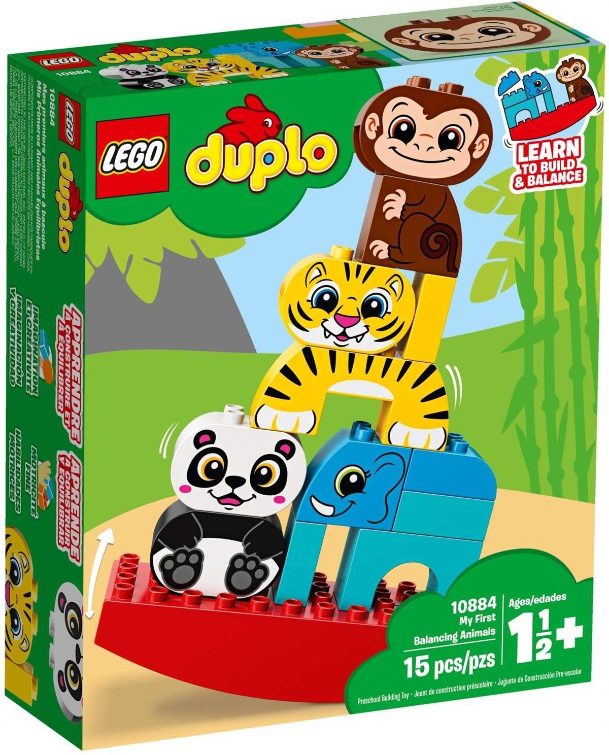 LEGO 10884 I MIEI PRIMI ANIMALI EQUILIBRISTI DUPLO