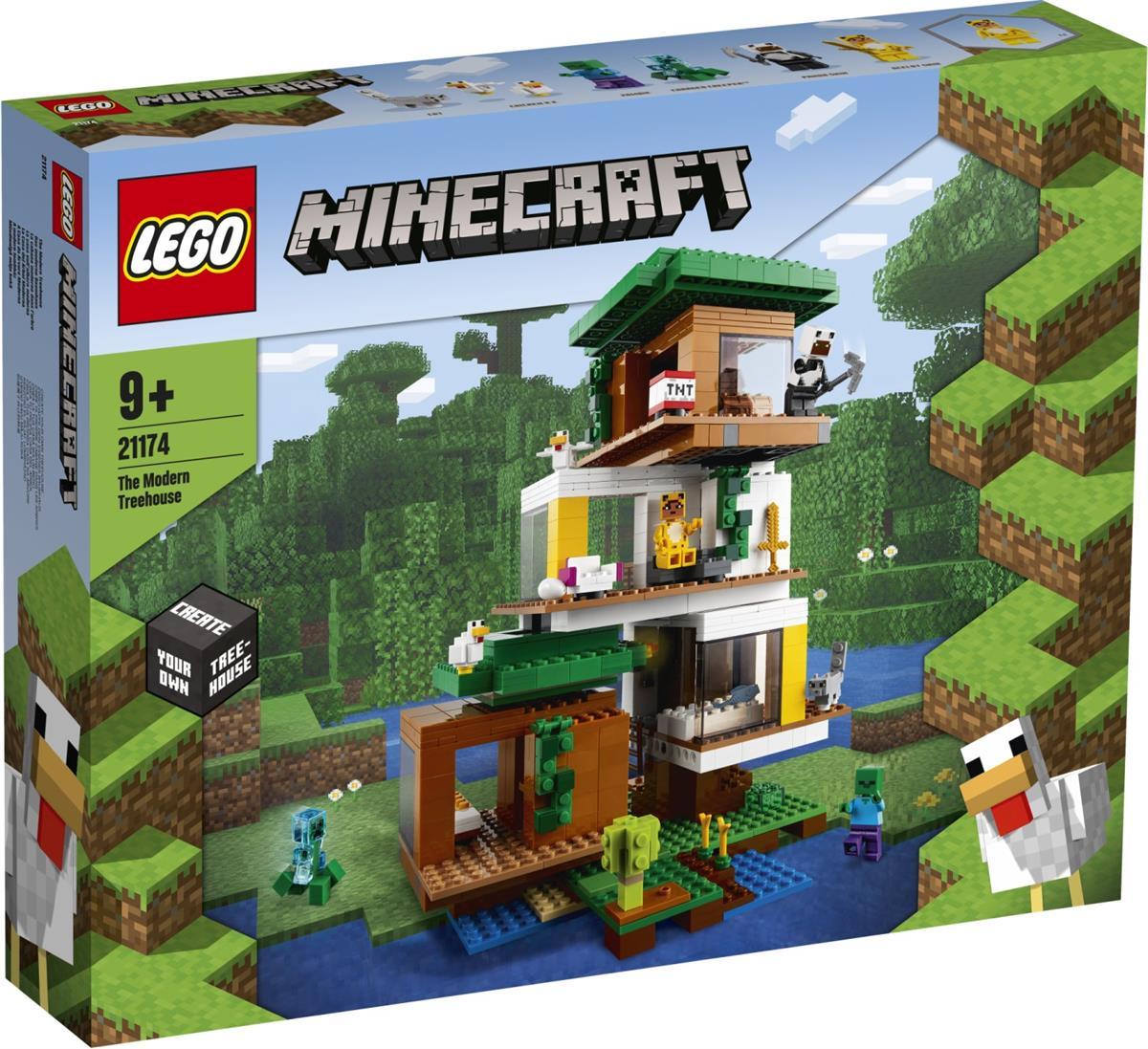 LEGO 21174 LA CASA SULL'ALBERO MODERNA MINECRAFT
