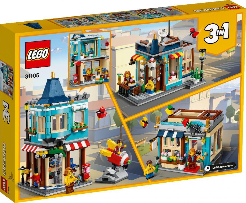 LEGO 31105 NEGOZIO DI GIOCATTOLI CREATOR