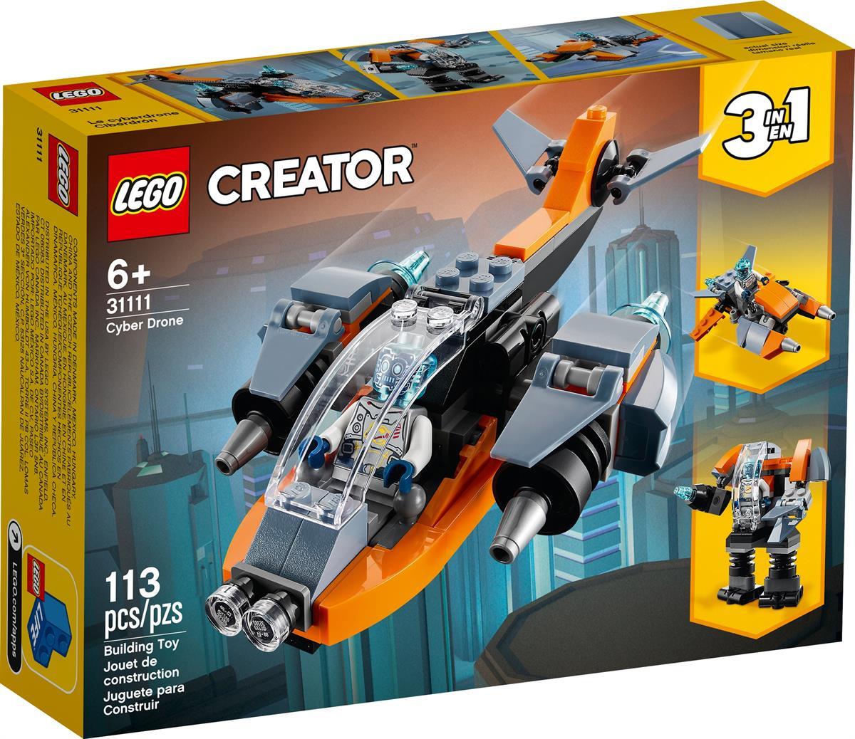 LEGO 31111 CYBER DRONE CREATOR