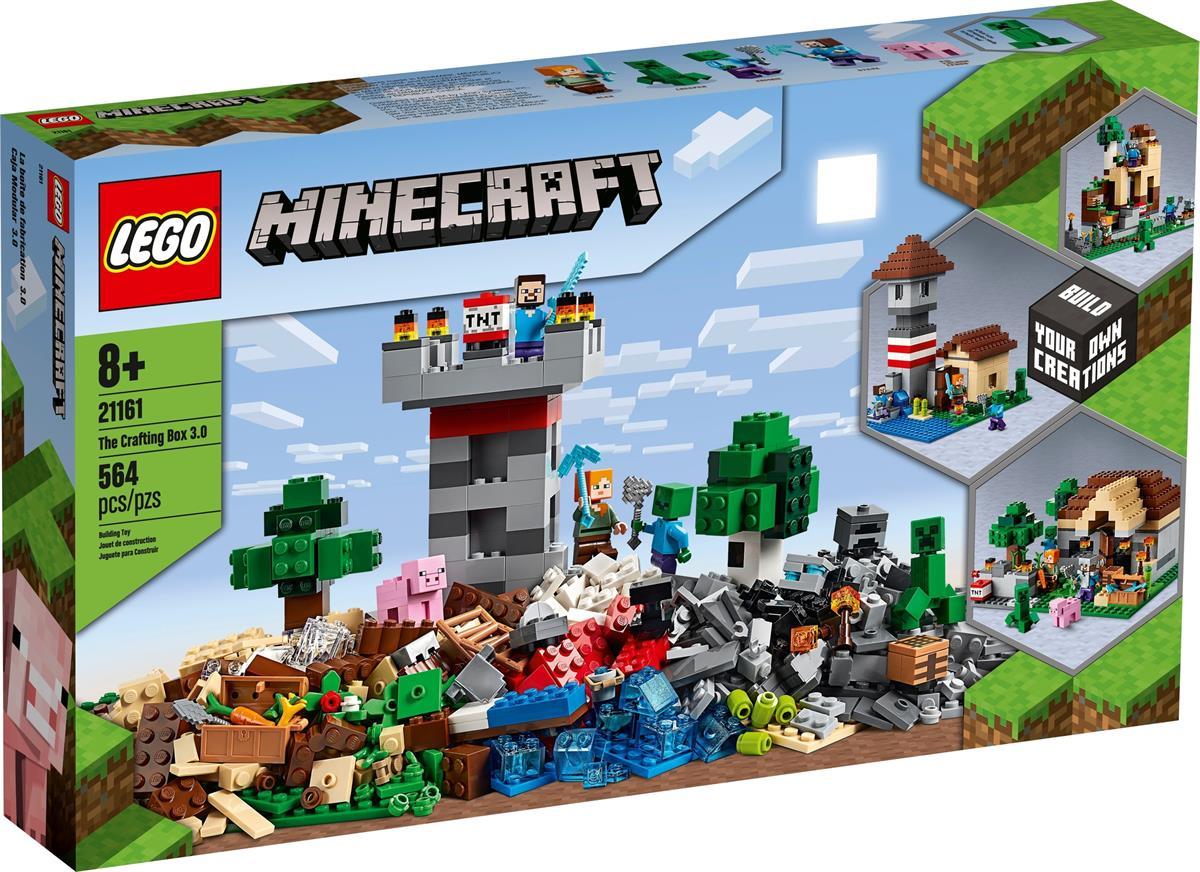 LEGO 21161 CRAFTING BOX 3.0 MINECRAFT