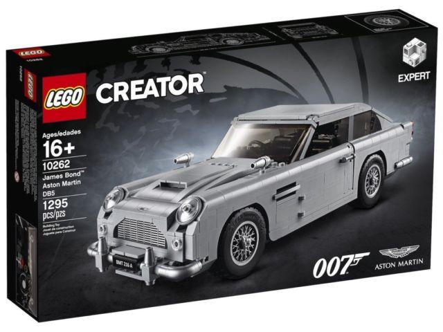 LEGO 10262 JAMES BOND ASTON MARTIN DBS CREATOR