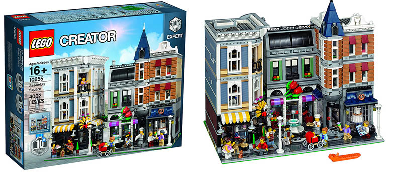 LEGO 10255 ASSEMBLY SQUARE CREATOR SPECIALIST