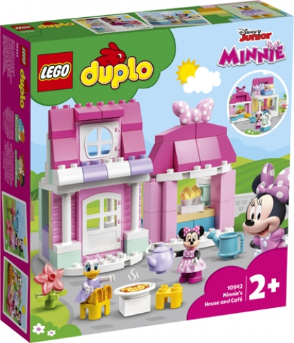 LEGO 10942 LA CASA E IL CAFFE' DI MINNIE