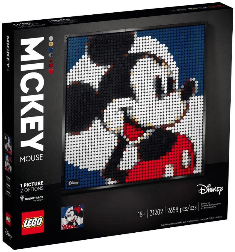 LEGO 31202 DISNEY'S MICKEY MOUSE ART