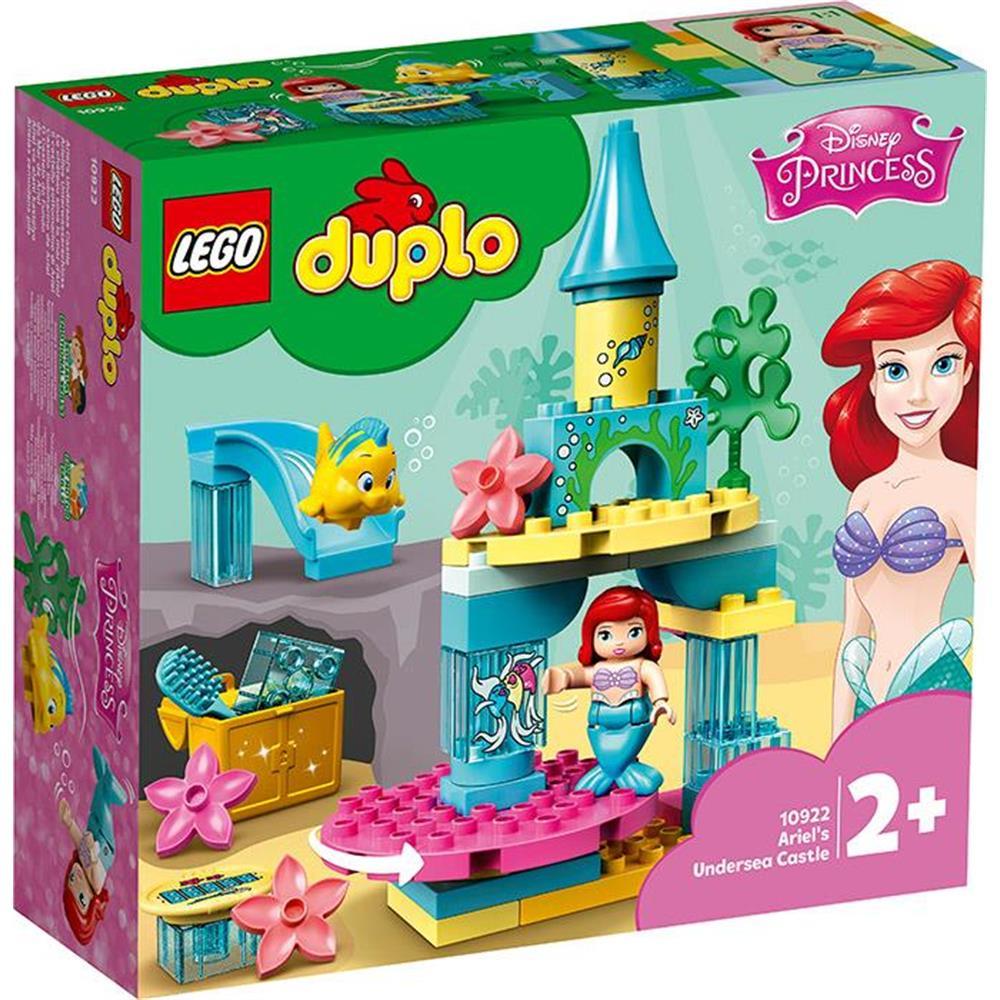 LEGO 10922 IL CASTELLO SOTTOMARINO DI ARIEL DUPLO