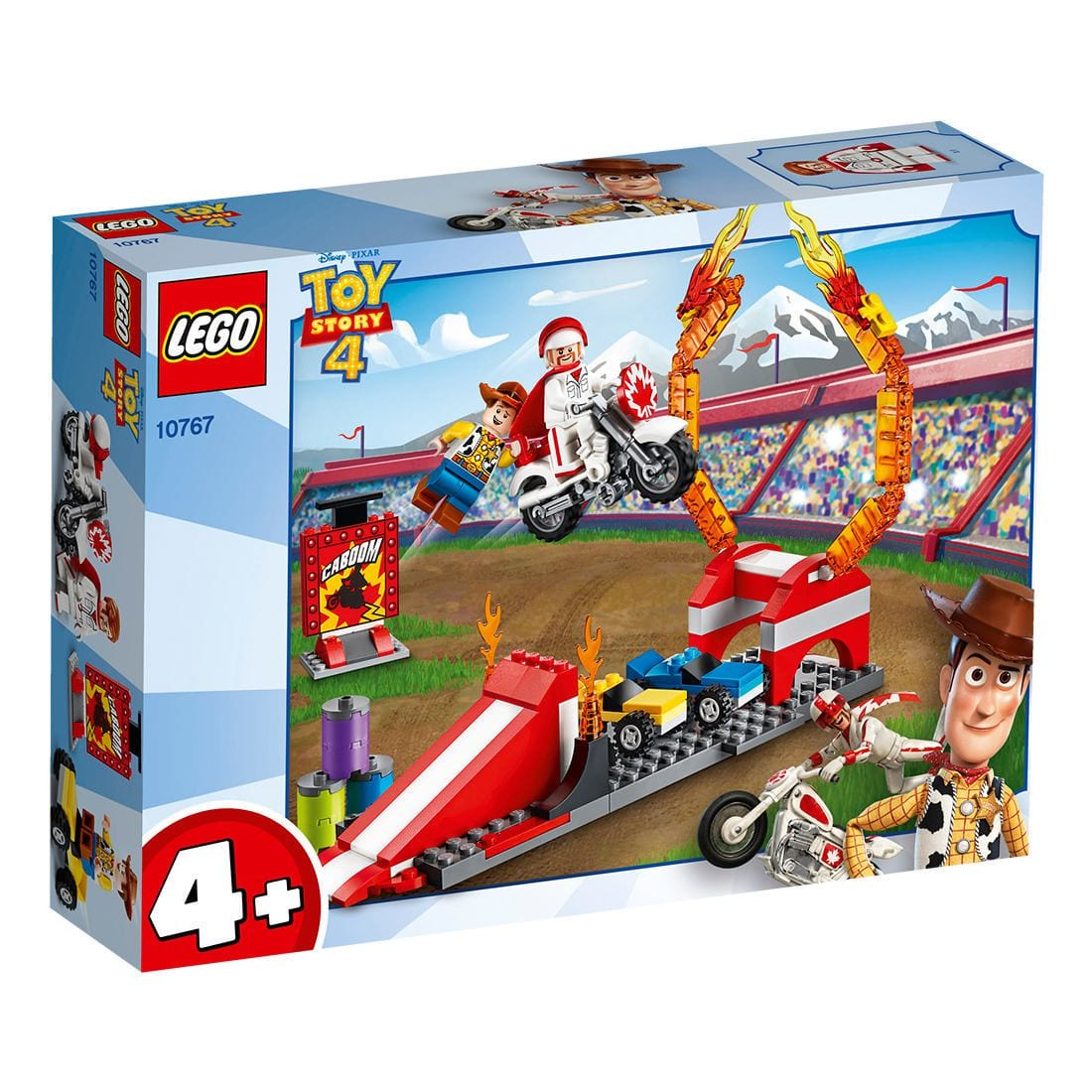 LEGO 10767 LE ACROBAZIE DI DUKE CABOOM TOY STORY
