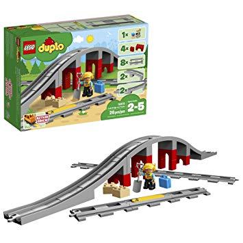 LEGO 10872 PONTE E BINARI FERROVIARI DUPLO