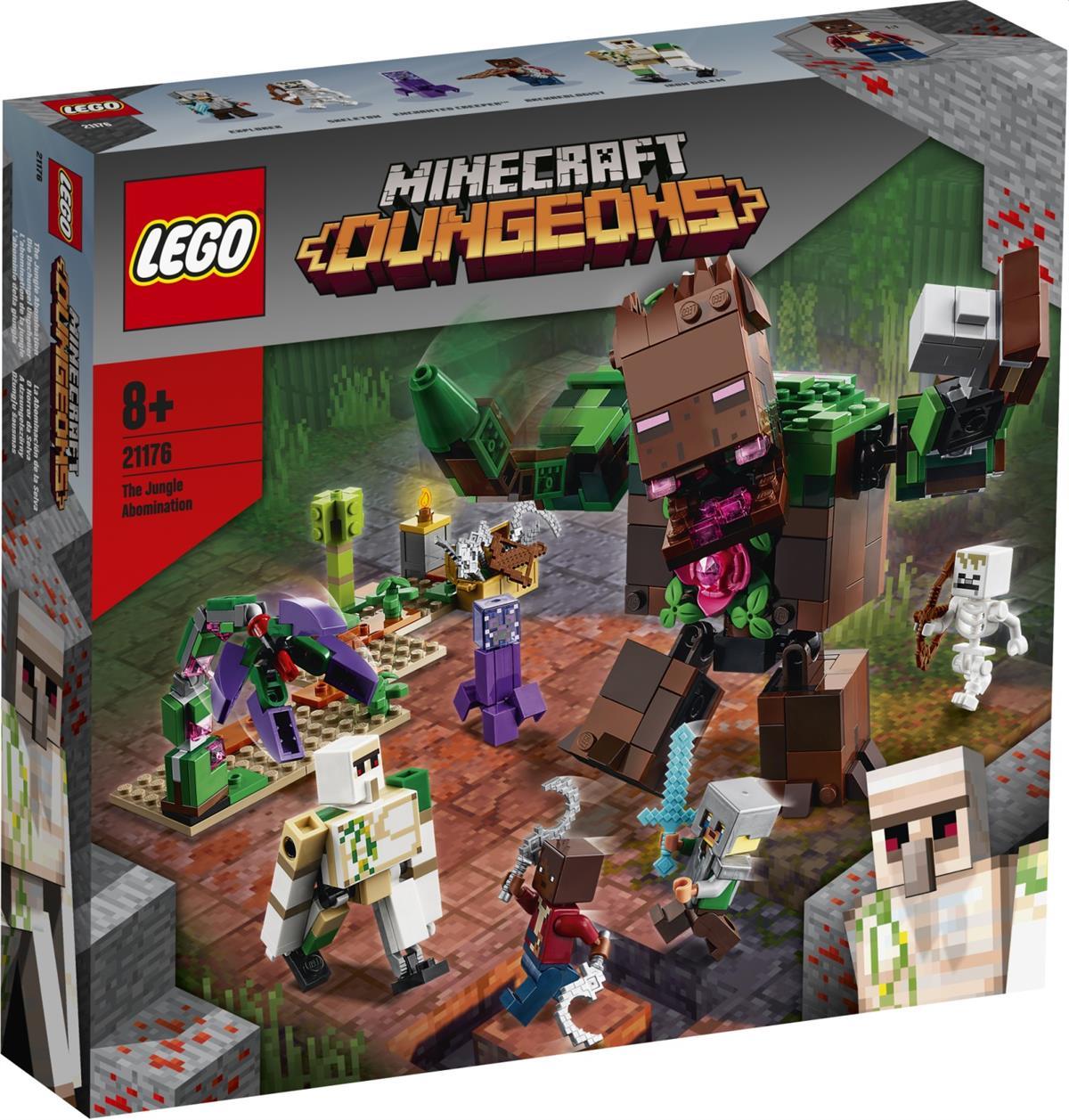 LEGO 21176 L'ABOMINIO DELLA GIUNGLA MINECRAFT