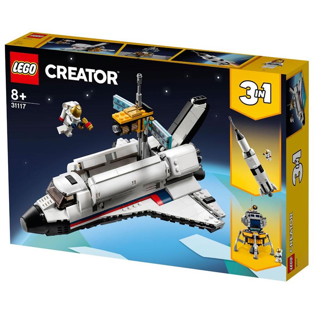 LEGO 31117 AVVENTURA DELLO SPACE SHUTTLE CREATOR